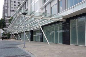 Cho thuê mặt bằng 480m2 tầng 1 gần Linh đàm giá 8$/m2