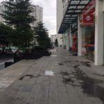 Cho thuê tầng 1 chung cư phố Định Công 340m2 làm hiệu sách, VP…