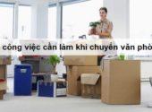 Danh sách 20 công việc cần làm khi thuê văn phòng mới