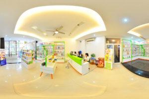 Cho thuê showroom 200m2 x 2 tầng. MT 15m phố Võ Chí Công