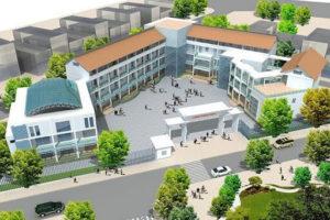 Cho thuê  650m2 x 5 tầng tại Cầu giấy làm trường học song ngữ, quốc tế…