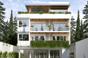 Cho thuê nhà làm mầm non, Vp tại Từ liêm 1000m2 xây 140m2 x 4 tầng