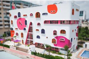 Cho thuê trường mầm non 5800m2 xây 17% x 2 tầng tại Sài Đồng